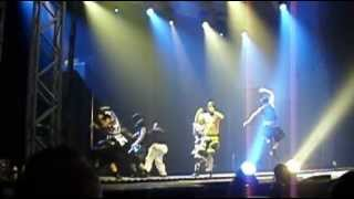 deichkind live 2012 in erfurt pferd aus glas