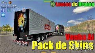 Prévia do Pack de Skins para Gts(Grand Truck Simulator)