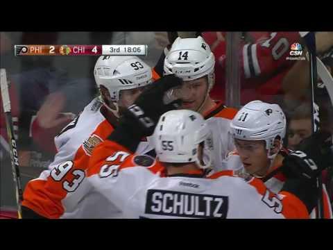 Flyers vs. Blackhawks 10/18/16