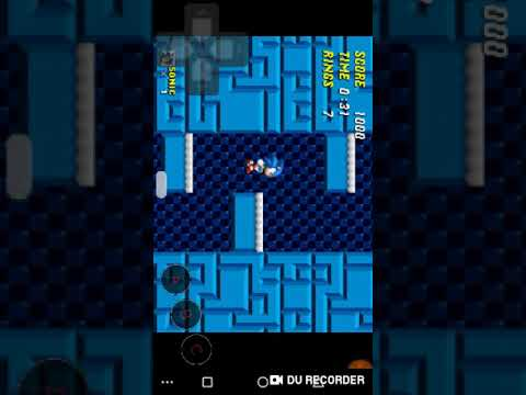 Sonic ROM Hack Gameplay