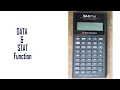 DATA & STAT Function: Learn Everything of BAII Plus Financial Calculator  for CFA, FRM