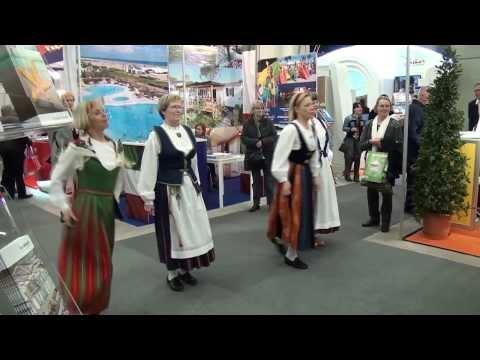 KATRILLI.CH Finnish Folk Dancing. Basel Holiday Fair 15.02.2014