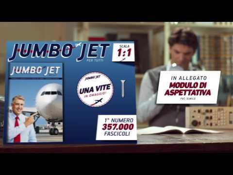 Spot aceto balsamico Monari Federzoni: Costruisci il tuo Jumbo Jet in scala 1:1