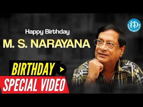 MS Narayana Birthday Special   Special Tribute From iDream Media   Something Special #33