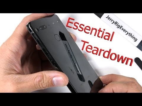 Essential Phone Teardown - Complicated and Pointless