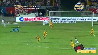 Tigres vs Queretaro 1-0 Jornada 15 Apertura 2014 Liga Mx HD - RESUMEN GOLES