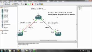 Open Shortest Path First OSPF Lab 8 OSPF Timers