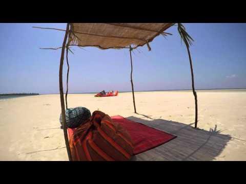 Kitesurfing trip to Funzi Island in Kenya with H2O Extreme