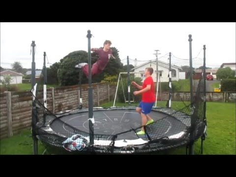 WWE Moves With Friend! Ft. Harrison Hodder-Williams