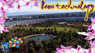 News Techcology -  Apple's park takes root landscaping inside the $5bn HQ