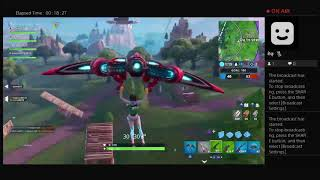 Ktrain732 Playing Fortnite, tried to get some challenges done #fail but I got 6 kills #femalegamer