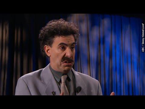 Borat Made An Epic Return To Blast Donald Trump On 'Jimmy Kimmel Live' - Newsy