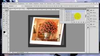 Как сделать рамку в фотошопе. Экшен для рамки