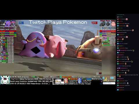 Twitch Plays Pokémon Battle Revolution - Matches #117649 and #117650
