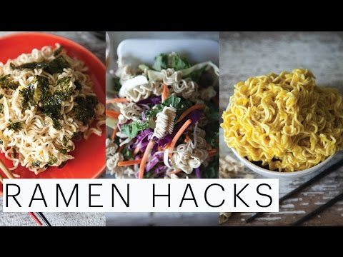 3 BACK-TO-SCHOOL DORM ROOM HACKS FOR RAMEN | Kylie Jenner | Asian Salad | Mac n Cheese | Edgy Veg