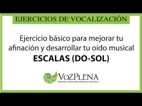 Escalas: Ejercicio básico para mejorar la afinación y desarrollar tu oído musical
