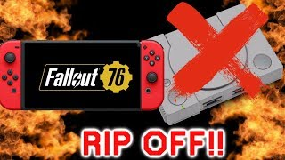 Sony Ripping Us off with The PlayStation Classic Games | New Wolfenstein On Switch & Fallout 76