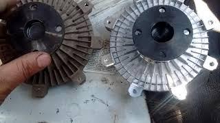 Comparación Fan Clutch (Viscoso) Defectuoso Con Uno Nuevo (Hyundai H100 D4BH D4BF)