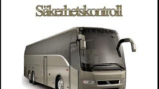 Säkerhetskontroll buss (Svenska) - 公交车安全控制(瑞典)
