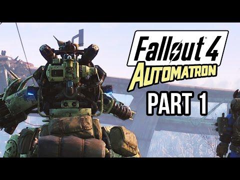 Fallout 4 Automatron Gameplay Walkthrough Part 1 – NEW ROBOTS