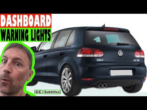 VW Golf Dashboard Lights Overview
