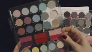 ASMR   Makeup Collection / Color Swabs (Whisper)