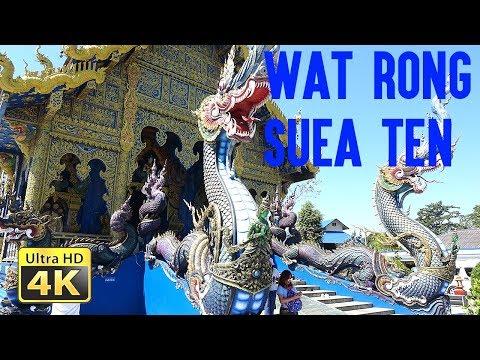 Wat Rong Suea Ten - Chiang Rai - Thailand - 2019 [UHD 4K]