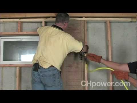 How To Frame A Basement Wall how to frame basement walls - youtube