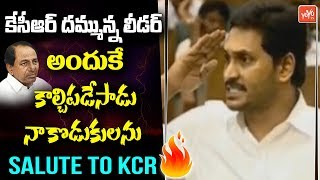 YS Jagan PRAISES CM KCR Like Never Before In AP Assembly Over Disha | AP News