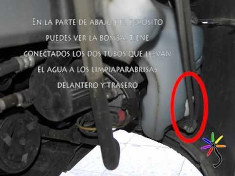 Reparacion Bomba Limpiaparabrisas Peugeot 307 Flv Youtube