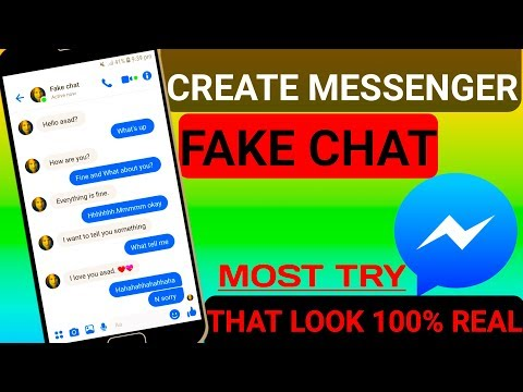 How To Make Facebook Messenger Fake Chat In 2019 Hindi-Urdu /by Unique Facts