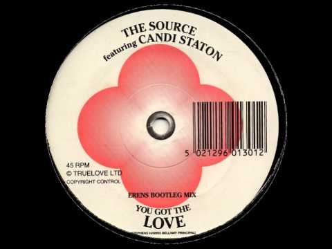 The Source Ft.Candi Staton - You Got The Love (12'' Erens Bootleg Mix)