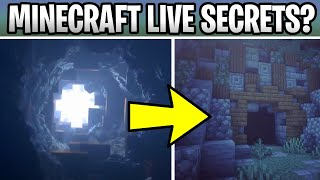 Minecraft Live Secrets Revealed! Cave Update & Mob Vote??? Minecon Trailer