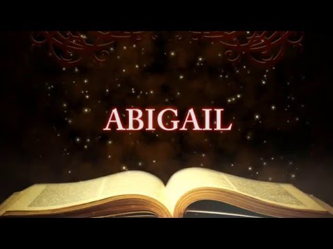 Character Study -- Abigail