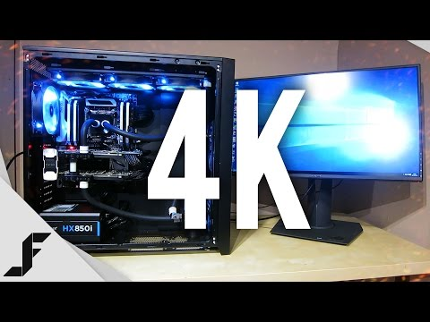 Ultimate 4K Gaming PC Setup!