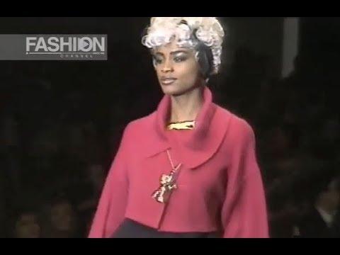 KARL LAGERFELD Fall 1991/1992 Paris - Fashion Channel