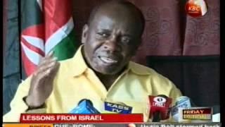 Amiran Kenya KBC TV 2012 06 01 2100 Lessons from Israel pt 1
