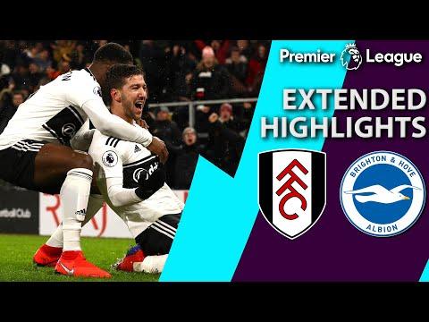 Fulham v. Brighton | PREMIER LEAGUE EXTENDED HIGHLIGHTS | 1/29/19 | NBC Sports