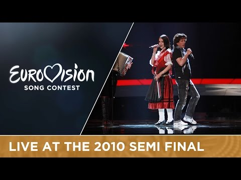Ansambel Žlindra & Kalamari - Narodnozabavni Rock (Slovenia) Live 2010 Eurovision Song Contest
