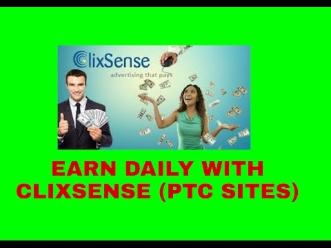 Earn Money By Clicking Ads - PTC Sites