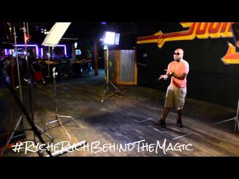 "#RycheRychBehindTheMagic w/ @AkaCharm ""BACK INTO IT"" Video Shoot FT Kilo Ali"