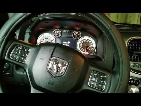 Dodge ram radio locked problem