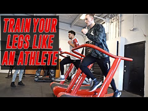 Train Your Legs Like An Athlete | The Lost Breed