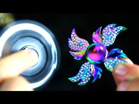 Top 7 BLING Diamond Fidget Spinners! MILLION DOLLAR SPINNER MOD