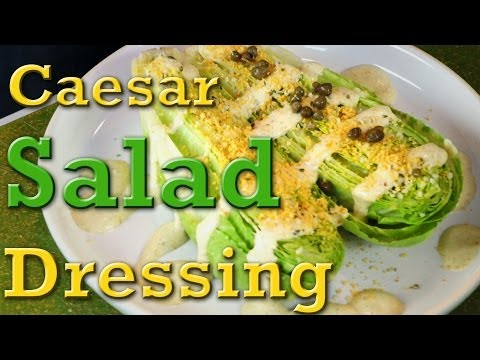 Superfood Caesar Salad: Organic Vegan Recipe