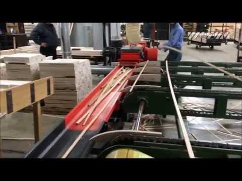 WEIMA Holz-Hacker WLH Tiger 400 zerkleinert Holzleisten und Abschnitte