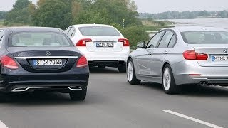 Volvo S60 vs. BMW 325d vs. Mercedes C 250