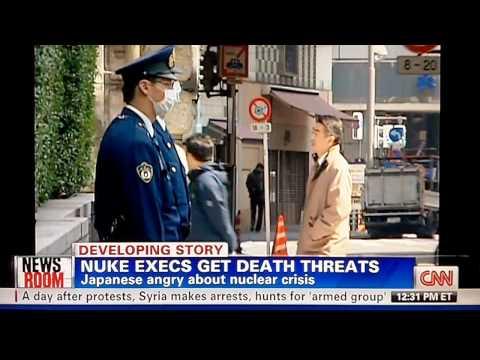 Japan Nuclear Crisis N-Exec Death Threats 4/2/11