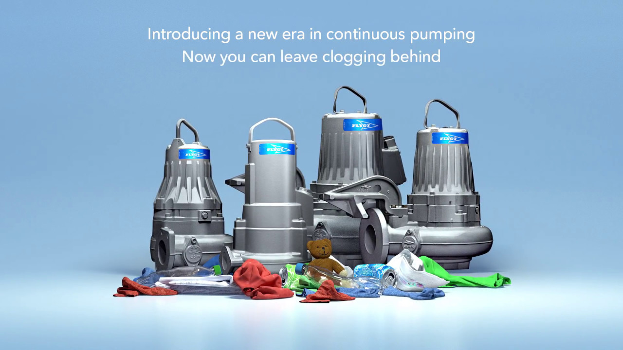 Flygt's new small pumps range