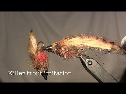 Killer Trout Streamer - Beginner Fly Tying Instructions